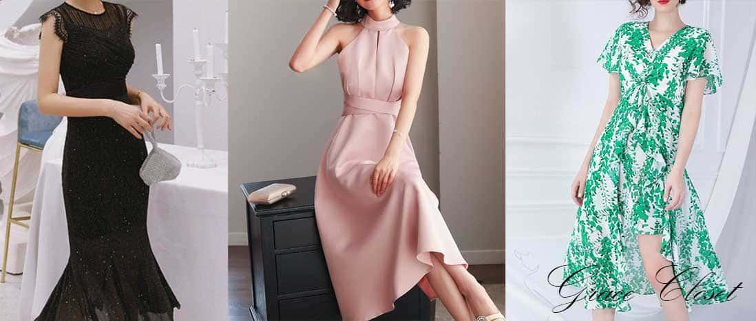最新トレンドワンピースも新品レンタルドレス